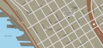 seattle map seattle map and directions the fairmont olympic hotel seattle