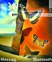 download themes on mobile phone downloads mobile stuff themes for nokia s60 2nd butterfly