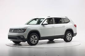 black volkswagen atlas new volkswagen atlas earns iihs top safety pick