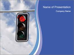 red traffic lights powerpoint template u0026 backgrounds id 0000092521