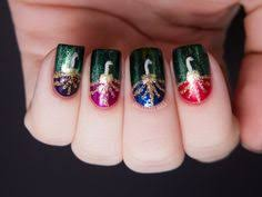 christmas nails by april dall nails pinterest