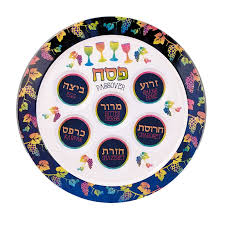 sader plate melamine seder plate for your passover table