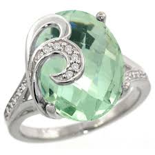 green wedding rings oval green amethyst engagement ring this green amethyst