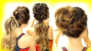 Cute Sporty Hairstyles Sporty Hairstyles For Long Hair