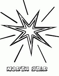 star coloring pages printable pictures pointed color free