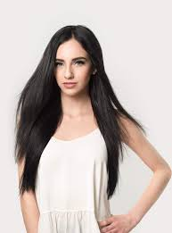 20 inch hair extensions clip in hair extensions jet black color 1 120 grams luxy hair