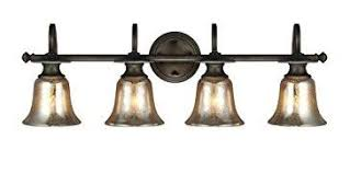 Bathroom Fixture Finishes Mercury Glass Bathroom Light Fixtures For Classic Look