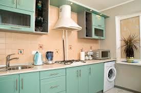 big chill kitchen white and blue 50s style kitchen kitchen