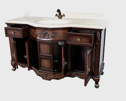 Discount Bathroom Vanities Dallas Montage Antique Style Bathroom Vanity Single Sink 60