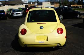 volkswagen yellow 1999 volkswagen beetle yellow manual used car