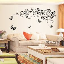 Large Wall Stickers For Living Room by Popular Large Wall Stickers Flowers Buy Cheap Large Wall Stickers