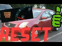 service engine soon light nissan sentra how to reset service engine soon light on a 2011 nissan sentra