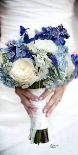 blue flowers for wedding one of the most beautiful bouquets i ve seen much like
