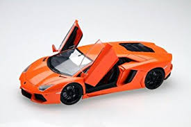lamborghini aventador amazon com lamborghini aventador model car 1 24 toys