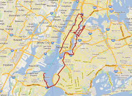 map of new your five boro bike tour map nyc bike maps