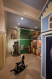 bright indoor playhouse in kids traditional with building backyard