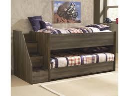 signature design by ashley juararo twin loft bed w left storage