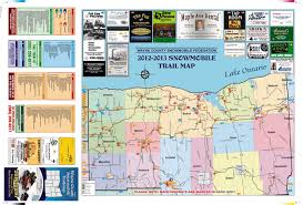 Snowmobile Trail Maps Michigan by Trail Maps Lakeshore Riders