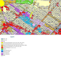 New Orleans Zoning Map by New Master Plan Mid City Cemetery District