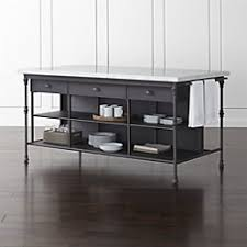 kitchen islands black belmont black kitchen island crate and barrel