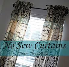 Easy No Sew Curtains 84 Best Curtains And Windows No Sew U0026 Sew Images On Pinterest