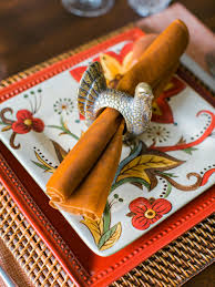 turkey napkin ring vintage decor ideas for your thanksgiving table hgtv s