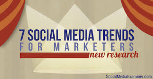 The Social Clinic Trend Part - 7 social media trends for marketers new research social media