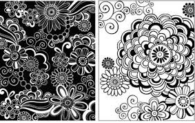 black and white wrapping paper jess volinski illustration surface design black white
