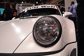 porsche rauh welt sweet and tender hoonigan rauh welt 911 turbo debuts at sema