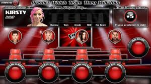 creates live prediction companion app for the voice eurodroid - The Voice App Android