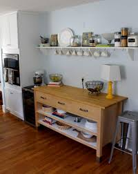 Freestanding Kitchen Furniture Racks Ikea Kitchen Shelves With Different Styles To Match Your