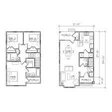 Duplex Blueprints Home Plans Narrow Lot Narrow Lot Duplex House Plans 2 Bedroom