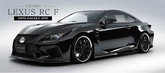 lexus rc f body kits japan parts master
