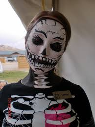 skeleton face paintings for halloween face painting illusions and balloon art llc halloween ghosts