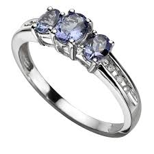 tanzanite wedding rings tanzanite rings h samuel