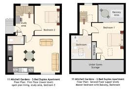 100 duplex apartment plans 3 bedroom apartments bedroom