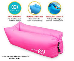 Blow Up Sofa Bed by Amazon Com Hicom Mart Portable Inflatable Lounger Air Chair