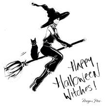 halloween megan hess illustrations runway girls pinterest