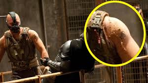 what happened to tom hardy u0027s tattoos in the dark knight rises