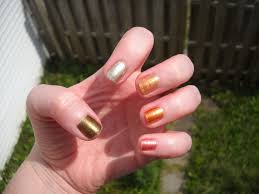 an accent nail july 2012