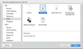 how to add pch or prefix pch file in xcode 6 tutorials ios