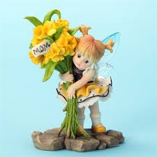 my kitchen fairies entire collection daffodils for my kitchen fairies figurine 4032698