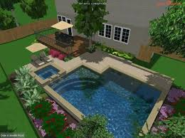 small inground pools for small yards austin igp spa build o