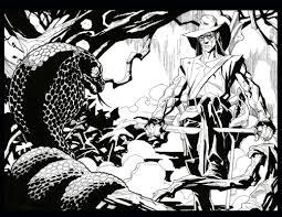 solomon kane in steve carr u0027s illustrations from classic novels