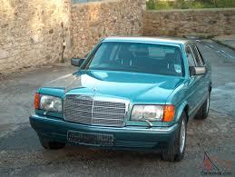 1991 mercedes 560 sel auto turquoise rare full spec 50 000 miles