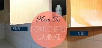 Chipped Laminate Flooring Bloom Diy Series Kitchen Redo How To Repair Chipped Laminate