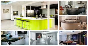 Curved Kitchen Island by Cool Curved Kitchen Island Designs U2014 The Home Design