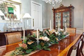 enchanting silk flower arrangements for dining room table 75 in