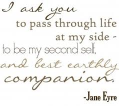 wedding reception quotes eyre bronte beautiful quote from mr rochester to