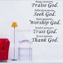 Religious Wall Decor Religious Décor Wall Decals Art Ebay